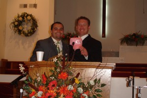 Pastor Justin and Tell